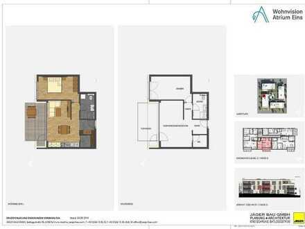 Haus D: 2 Zimmer im 1. Obergeschoss