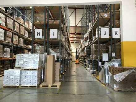 Lager-/Produktionshalle ca. 2.710m² bis 15m hoch inkl. Bürofläche ca. 1.100m² - 2 Minuten zur A81