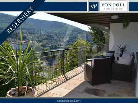 VON POLL: RESERVIERT Traumhafte Villa mit frontalem Neckarblick und Personenaufzug