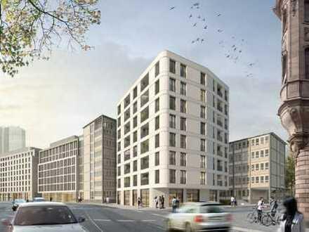In Frankfurt am Main: Gepflegte Wohnung mit vier Zimmern und Balkon