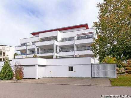 TOP Aussichtslage! 3-Zi.-Maisonette-Penthouse-Wohnung mit großer Dachterrasse in Biberach