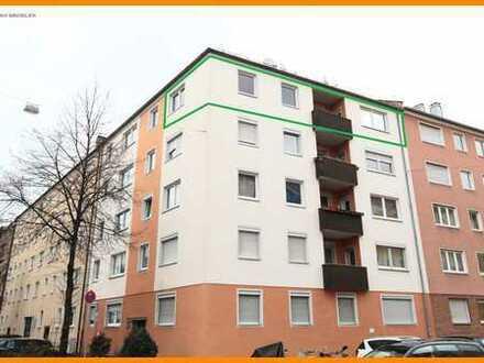 ** Schöne und renovierte 4-Zimmerwohnung mit Loggia in Nürnberg, Galgenhof!**