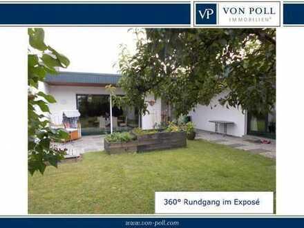 Stilvoller Bungalow mit gehobener Ausstattung mit schönem Garten in ruhiger Lage in Tönning/Eider