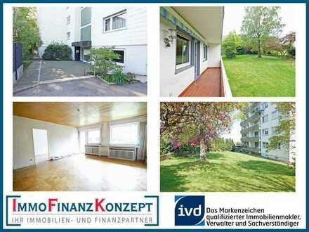 """Schön geschnittene Wohnung mit Balkon, Fahrstuhl und Stellplatz im schönen """"Königreich Stiepel"""""""
