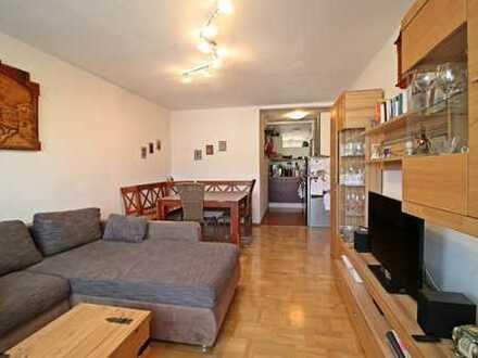Gut geschnittene 3,5-Zimmer-Wohnung in Happing!