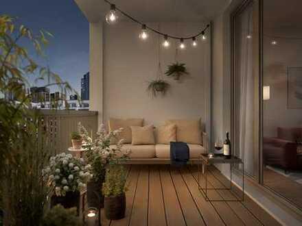 Moderner Schnitt, praktische Aufteilung! 2-Zimmer-Apartment auf ca. 40 m² Wohnfläche mit Balkon