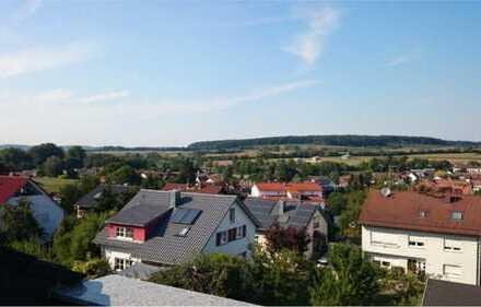 Helle und moderne DG-Wohnung mit Dachterrasse in Wössingen
