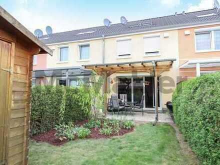 Familienglück in Köln-Merheim: Neuwertiges KfW-60-Effizienzhaus mit Garten und Terrasse