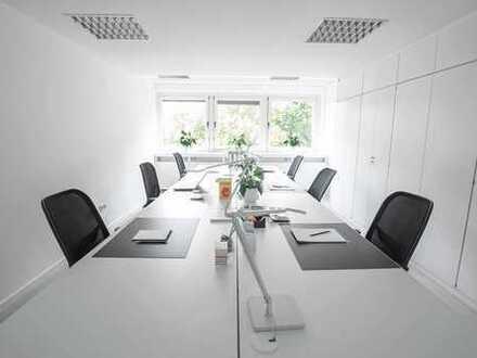 Voll eingerichtete Büroräume für 6 Personen - Auf Zeit oder Dauer - Mit Fullservice!