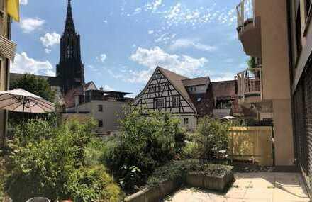 """""""Zentraler können Sie in Ulm kaum Arbeiten"""" Büro- bzw. Praxisetage in der Stadtmitte"""