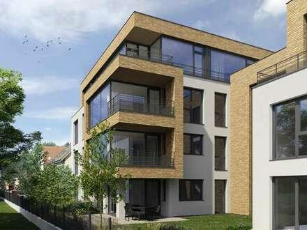 *reserviert* Schöne Erdgeschoss Wohnung mit Balkon & Gartenanteil !