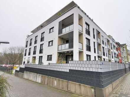Dormagen-Innenstadt: Wohnen auf Zeit - Hochwertige 3 Zimmer-Wohnung mit Aufzug, Balkon und Garage