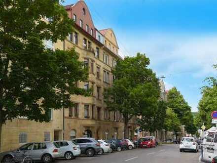 Tolle Altbau-Wohnung in Stuttgart-West nahe Hölderlinplatz