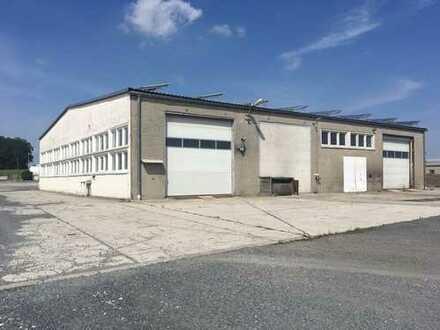 LKW- Werkstatt, Lager-, Bürogebäude in Thiendorf