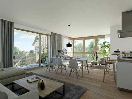 Erstbezug mit EBK und Balkon: exklusive, 3-Zimmer-DG-Wohnung in Bermatingen-Ahausen