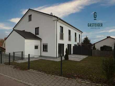 Hochwertige & moderne Doppelhaushälfte fußläufig zur S-Bahn.