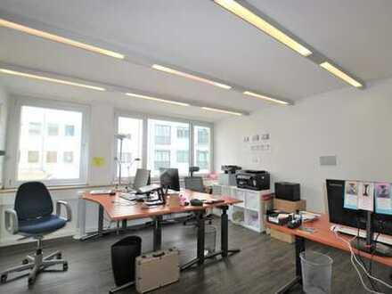 Helles und modernes Innenstadtbüro.
