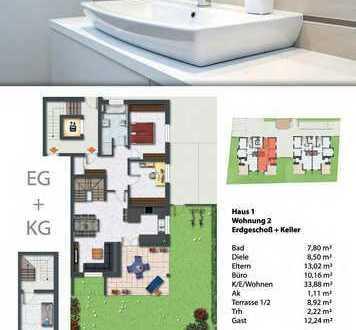 NEUMANN - Neubau! KfW 55! Modernes Wohnensemble mit hochwertigen Eigentumswohnungen-W02