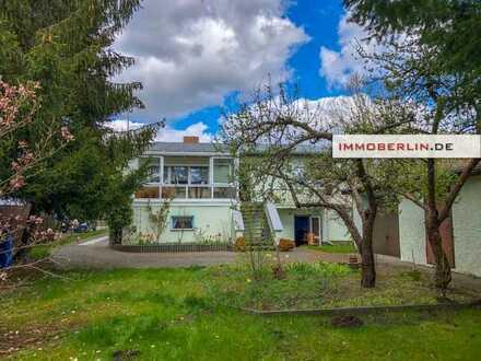 IMMOBERLIN.DE - Gepflegtes Einfamilienhaus mit Südgarten in idyllischer Lage