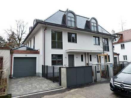 Neubau! Großzügige Doppelhaushälfte im Villenstil in München / Untergiesing-Harlaching