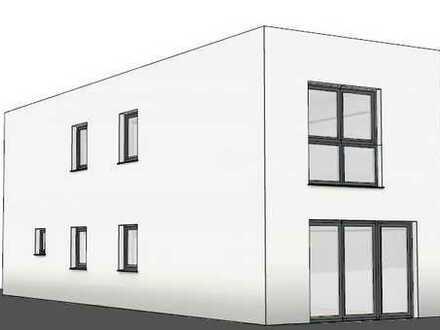 Neubau Bauhaus als freistehendes, massives Einfamilienhaus auf 350m² Grundstück in Dortmund Brackel!