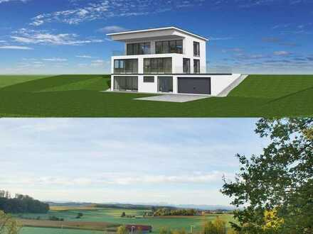 Modernes Einfamilienhaus mit Alpenpanoramablick in Wörthsee-Steinebach