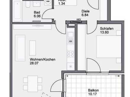 NEUBAU - Schöne 2-Zimmer-Wohnung mit Balkon in Neumarkt