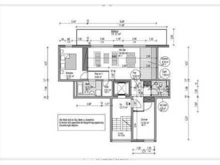 Moderne, helle 3-Zimmer Neubauwohnung mit großem Balkon