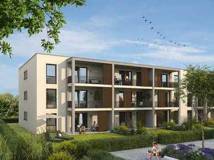 TOP: 2-Zimmer-Garten-EG-Wohnung in Kenzinger Wohnanlage mit Wassergarten