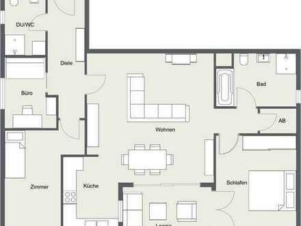 Stilvolle, gepflegte 4-Zimmer-Wohnung mit Balkon und EBK in Neu-Ulm