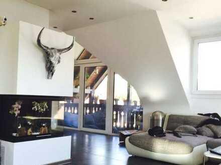 Exclusive Maisonettewohnung mit KAMIN und EBK, ideal für Paare