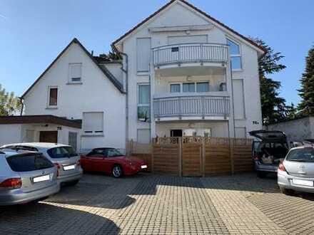 Stilvolle, gepflegte 2-Zimmer-DG-Wohnung mit Balkon in Griesheim