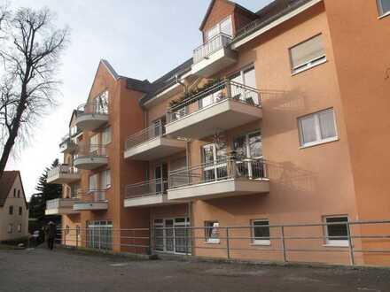 Große Wohnung mit Balkon und Tiefgaragenstellplatz in Pulsnitz
