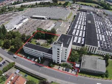 Büro/Praxisfläche ab 187 m² renoviert über den Dächern von Neustadt - starke Frequenz