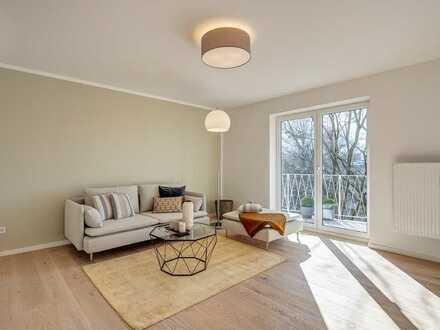 PROVISIONSFREI! Top renovierte 3-Zimmer-Design-Wohnung mit Blick ins Grüne
