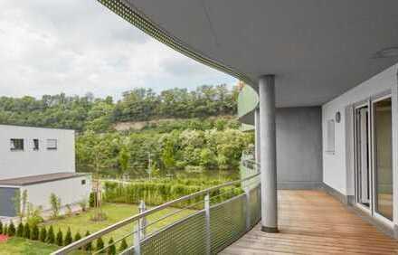 Ideale Einsteigerwohnung mit Neckarblick