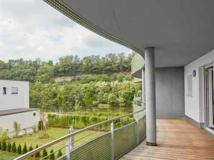 Jetzt Video-Besichtigung in der Neckarlust! Ideale Einsteigerwohnung mit Neckarblick