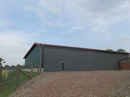 Gepflegte und neuwertige Gewerbehalle, ideal als Lagerhalle nahe Coesfeld