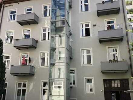 Schön geschnittene & helle 3-Zimmer-Altbauwohnung mit Westbalkon in SENDLING (Ganghoferstraße)