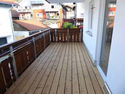 Schöne 3 Zimmer Wohnung mitten in Oberstaufen - ab sofort zu vermieten