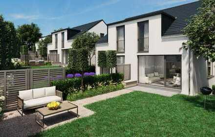 Doppelhaushälfte mit Garage, Garten und Terrasse
