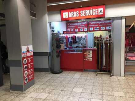 NACHFOLGER GESUCHT: Erfolgreicher Schuh- und Schlüsseldienst im Einkaufszentrum (Kaufland)!