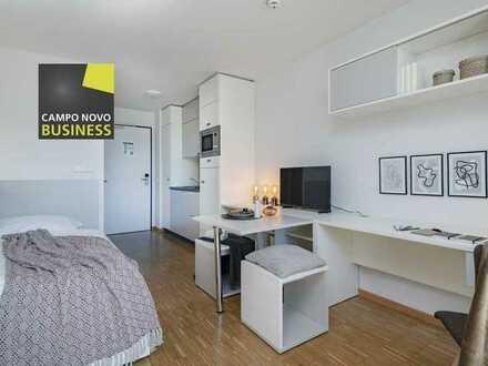 CAMPO NOVO Business - Die angenehme Unterkunft auf Zeit! Single Suite in Freiburg! All-inclusive!