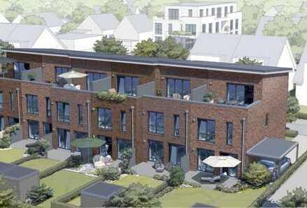 ERSTBEZUG Reihenmittelhaus (4,5 Zi.) mit Vollbad, G-WC, Garten und Dachterrasse