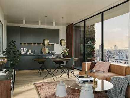 Ihr neues Domizil zum Wohlfühlen mitten in Frankfurt! 2-Zimmer-Wohnung mit Balkon im 23. OG