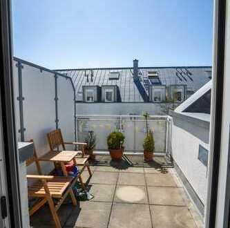 Sehr helle, top ausgestattete 2-Zimmer-Maisonette-Wohnung in beliebter Lage Hausens!