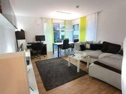 Helle 2-Zimmer-Wohnung mit bodentiefen Fenstern in Filderstadt