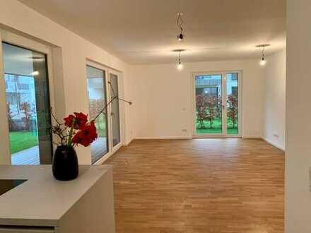 Erstbezug: stilvolle 3-Zimmer-Wohnung mit Top-EBK, Terrasse, Loggia, in Speyer