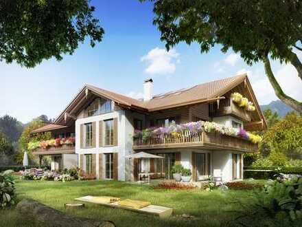 In begehrenswerter Lage: Wohnoase mit ausgewogenen Proportionen, charmanten Details und Sonnenbalkon
