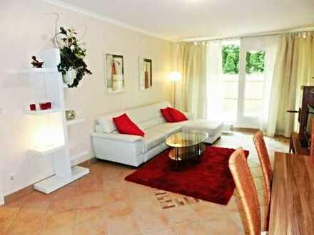 Möblierte Luxuswohnung mit Sauna in Blankenese